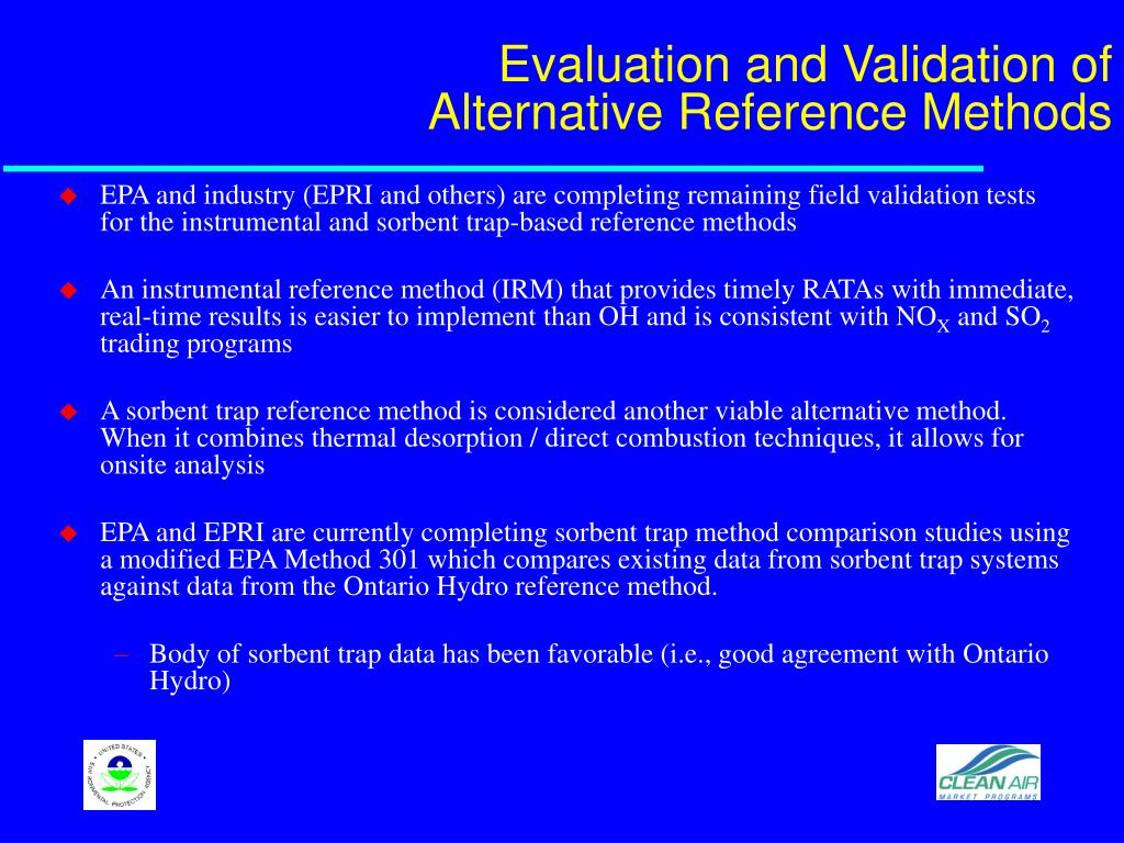 Evaluation and Validation of