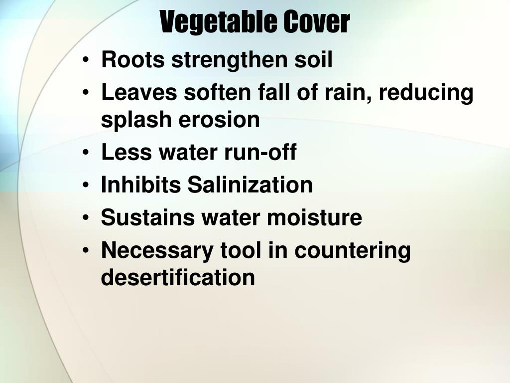 Vegetable Cover