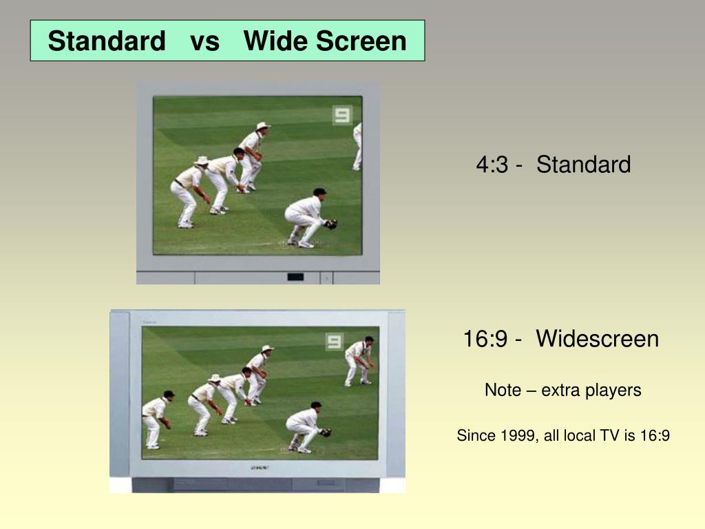 16:9 -  Widescreen