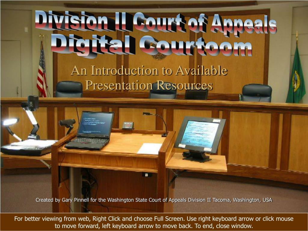 Division II Court of Appeals