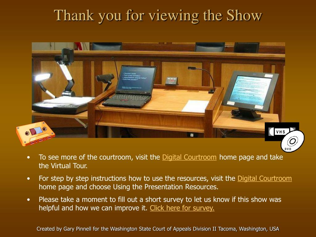 Thank you for viewing the Show