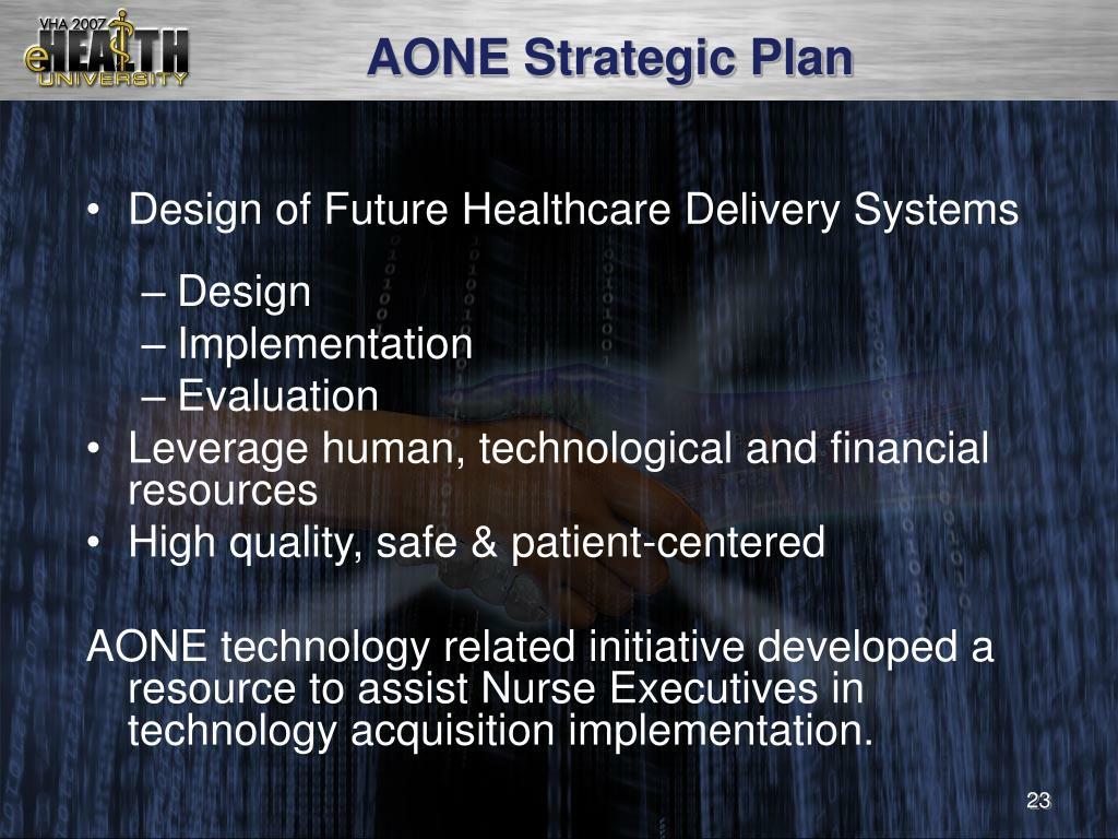 AONE Strategic Plan