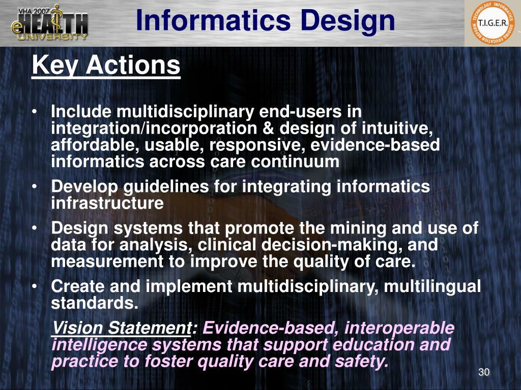 Informatics Design