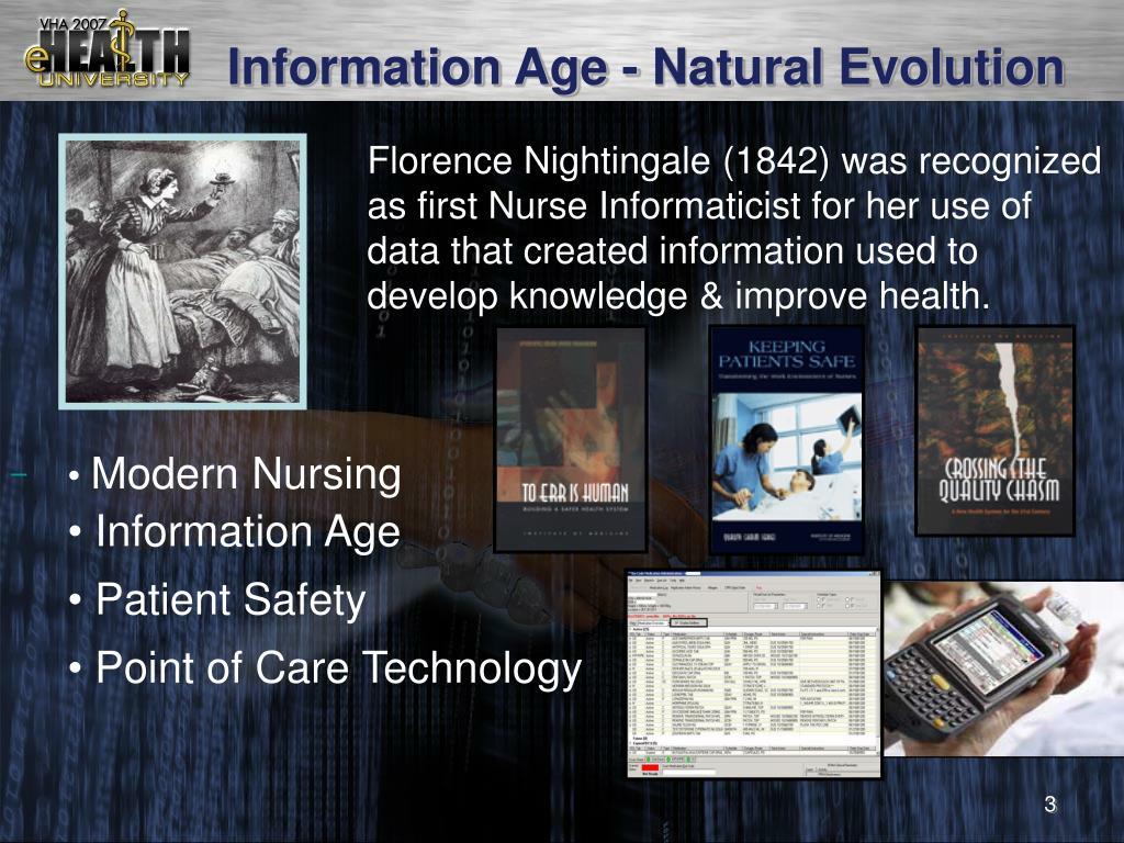 Information Age - Natural Evolution
