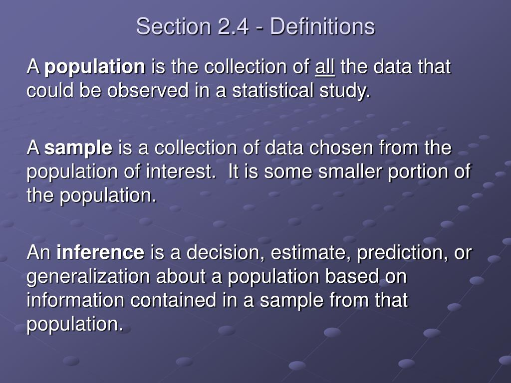 Section 2.4 - Definitions