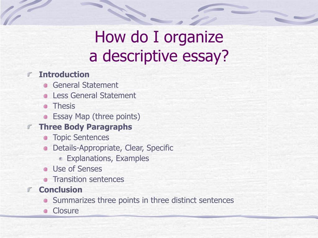 How do I organize