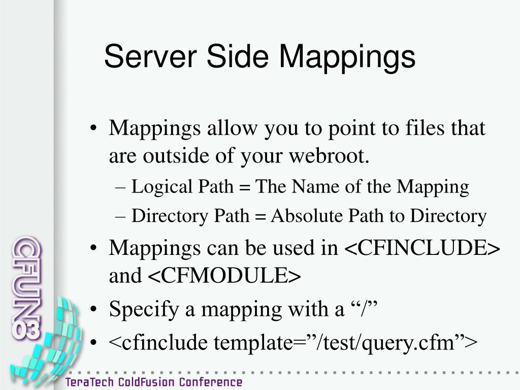 Server Side Mappings