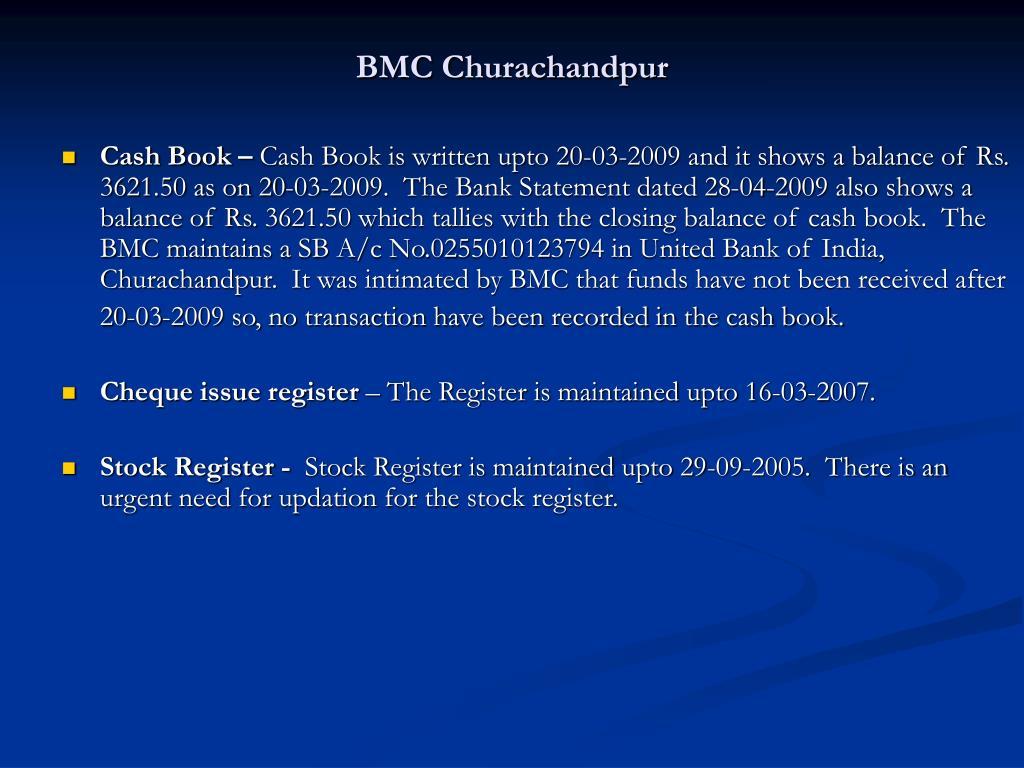 BMC Churachandpur