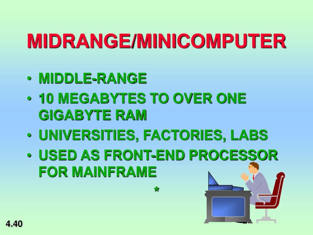 MIDRANGE/MINICOMPUTER
