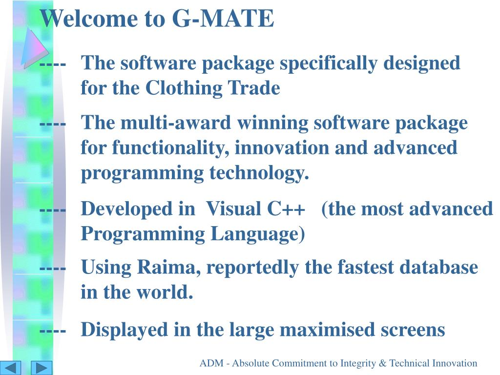 Welcome to G-MATE