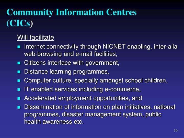 Community Information Centres