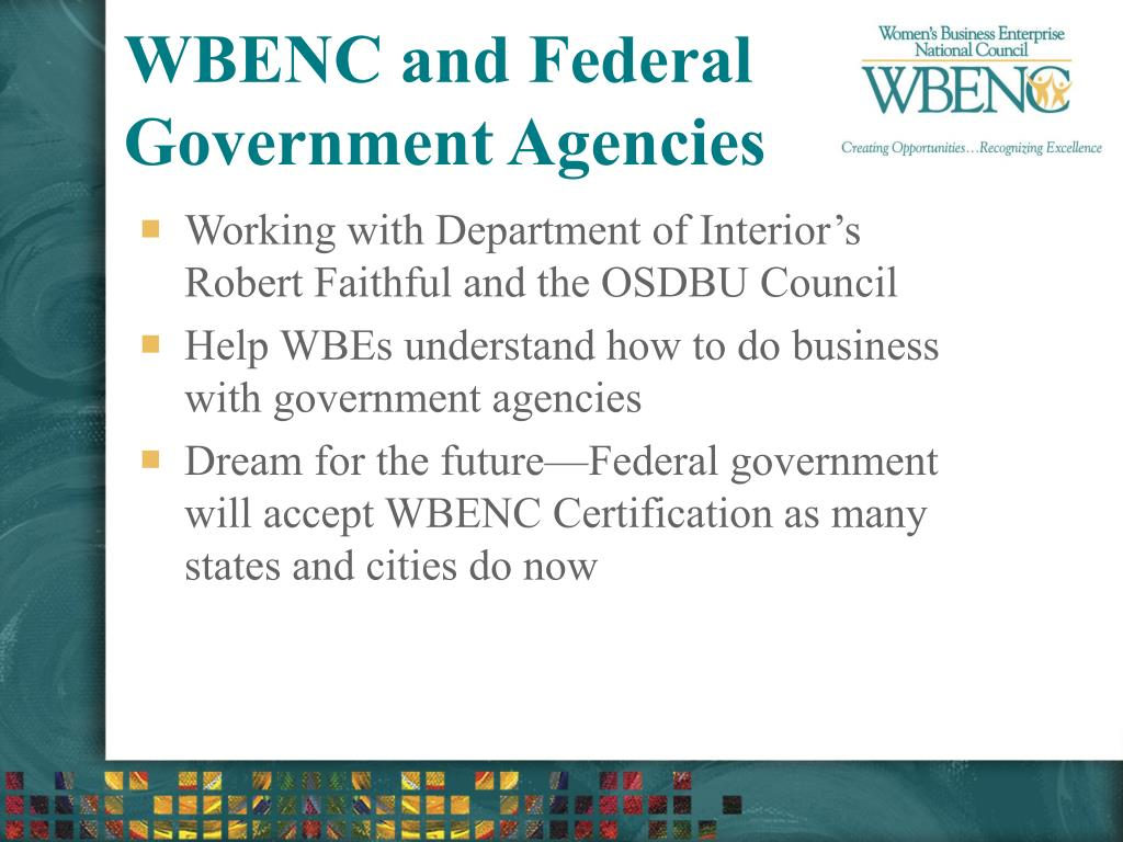 WBENC and Federal