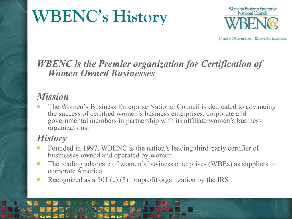 WBENC's History