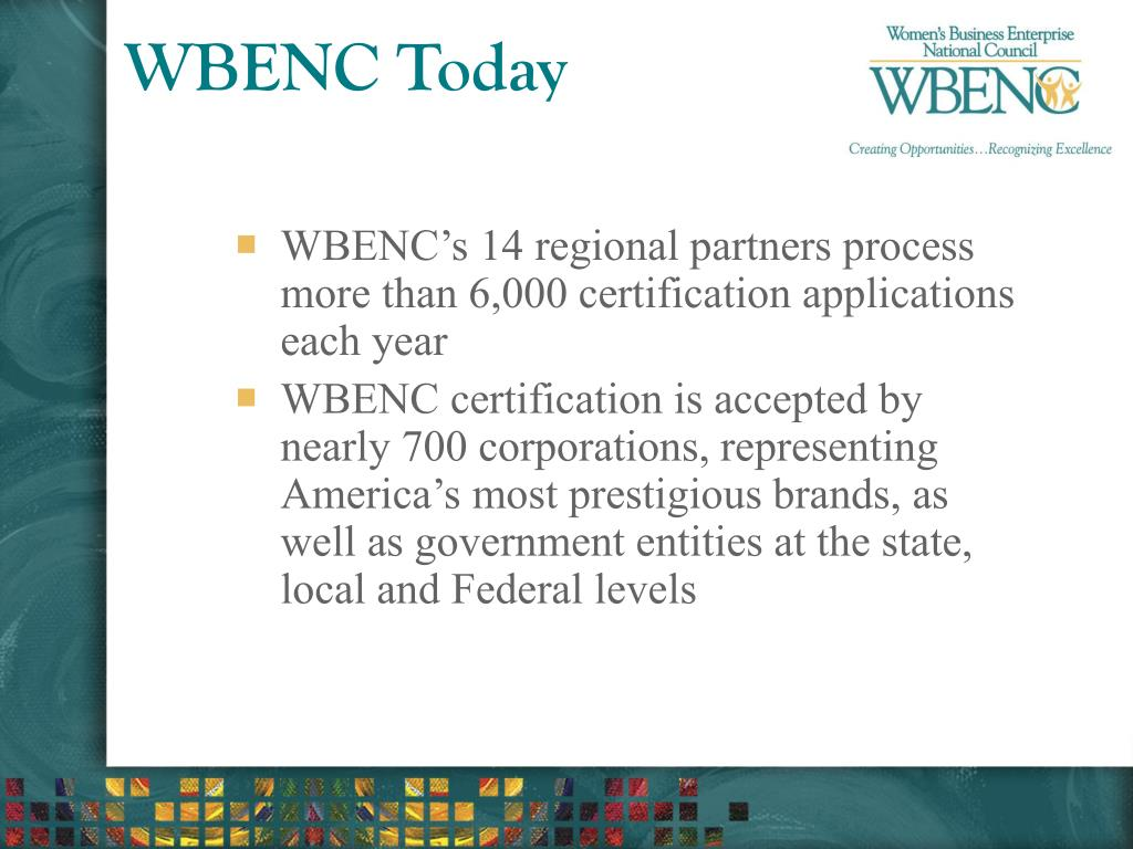 WBENC Today