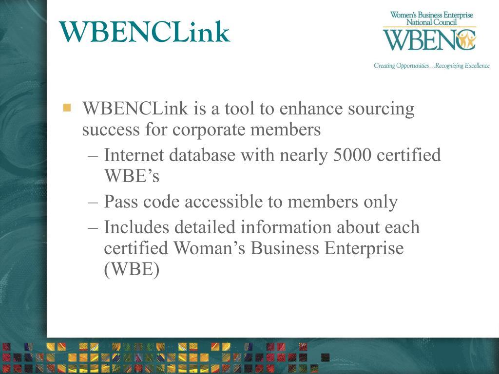 WBENCLink