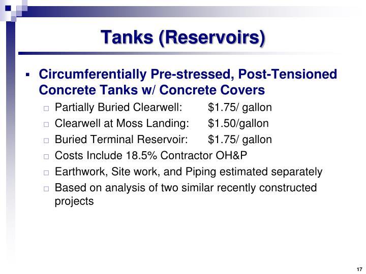 Tanks (Reservoirs)