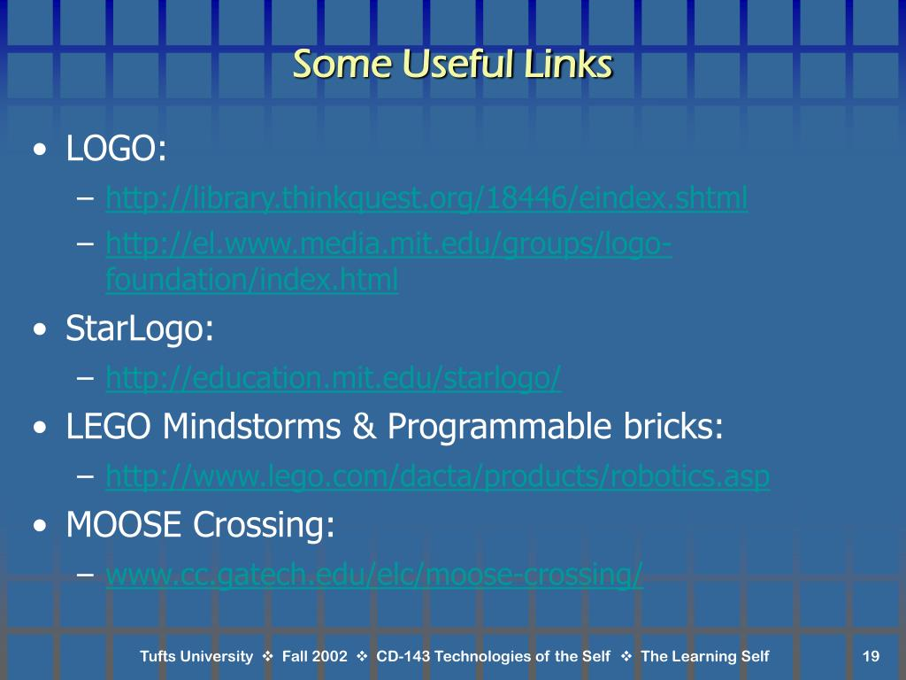 Some Useful Links