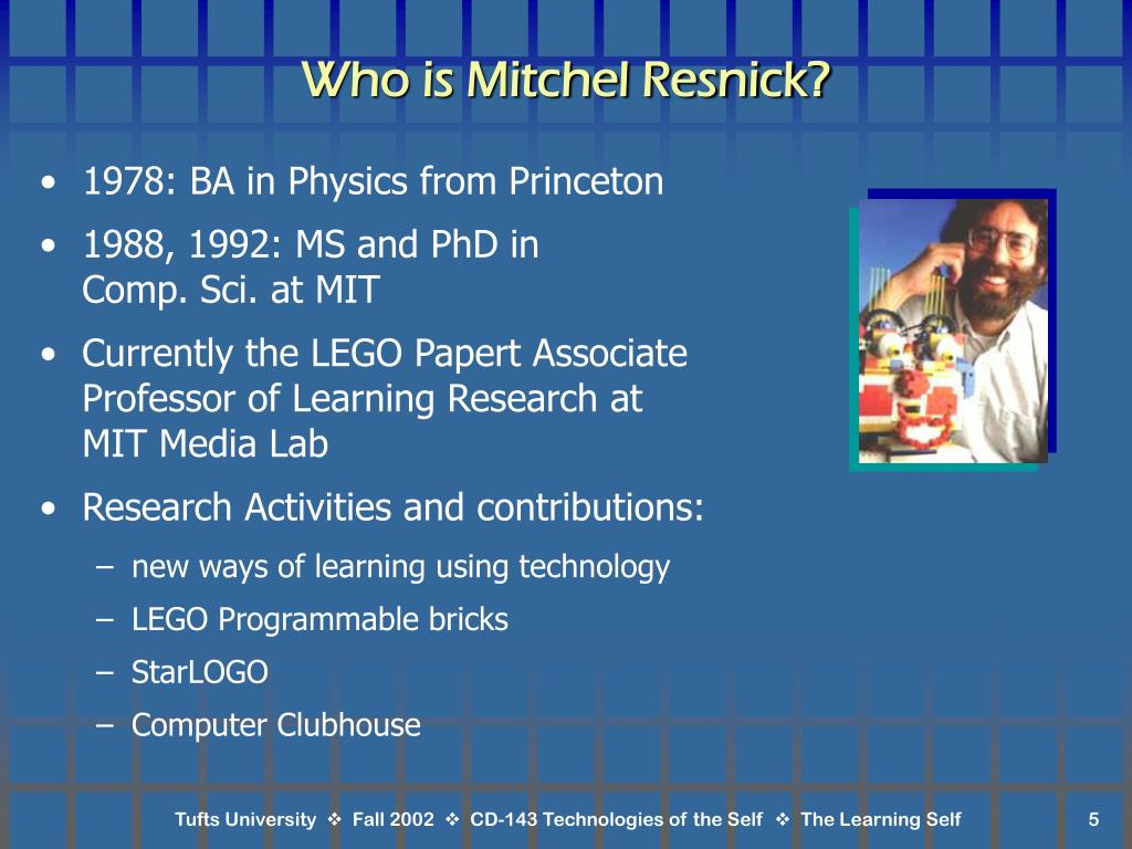 Who is Mitchel Resnick?