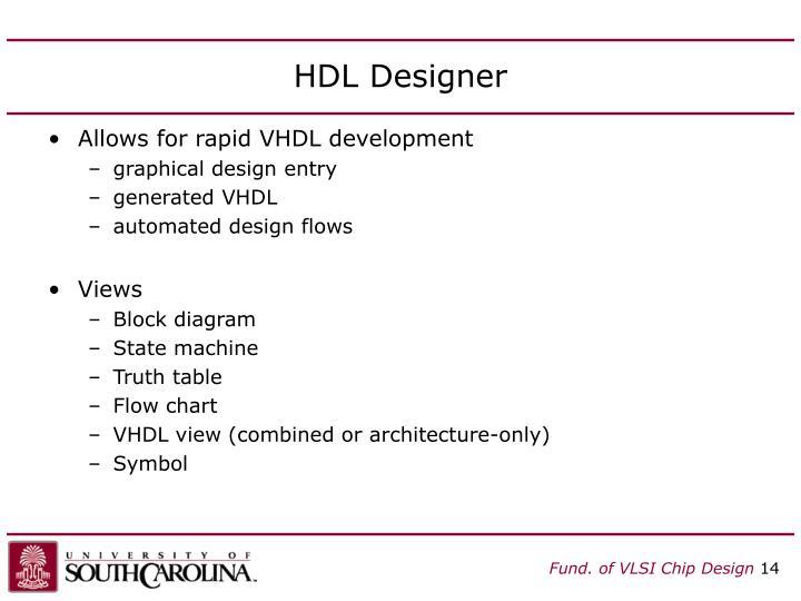 HDL Designer