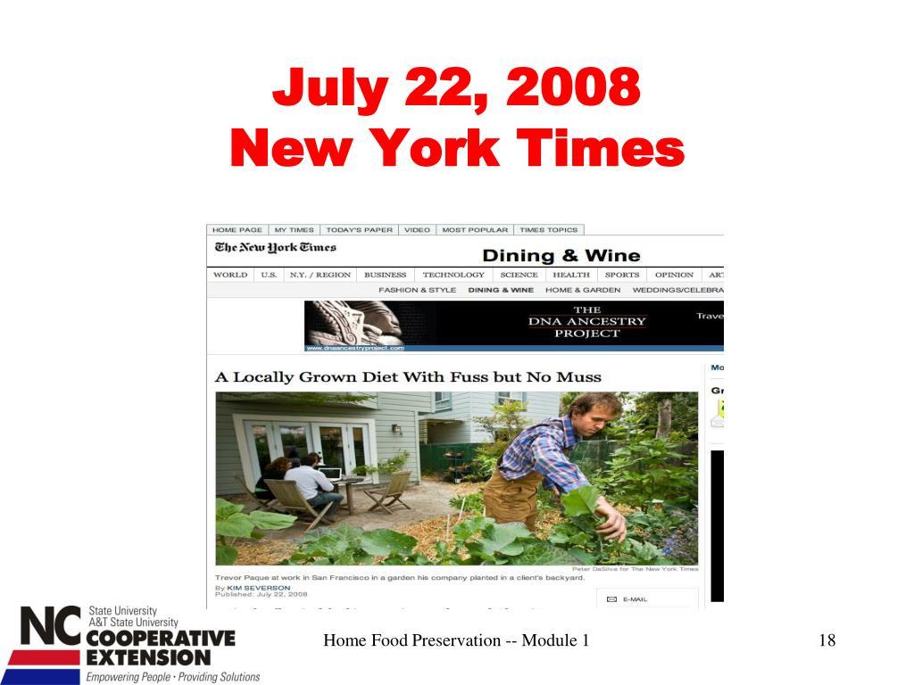 July 22, 2008