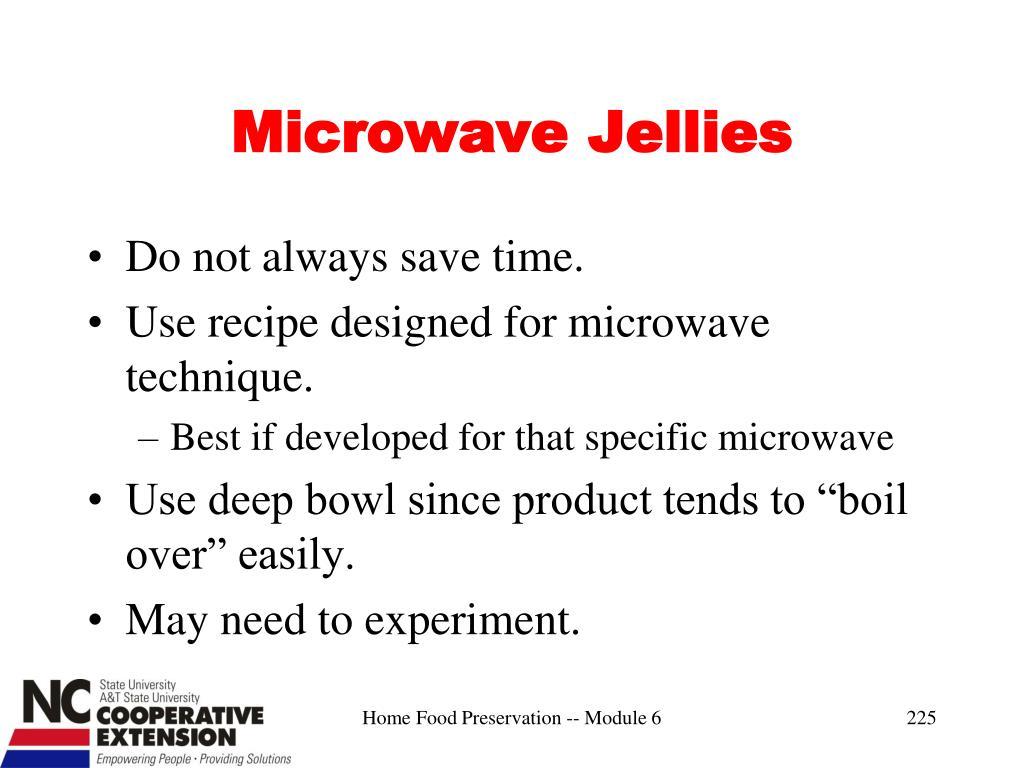 Microwave Jellies