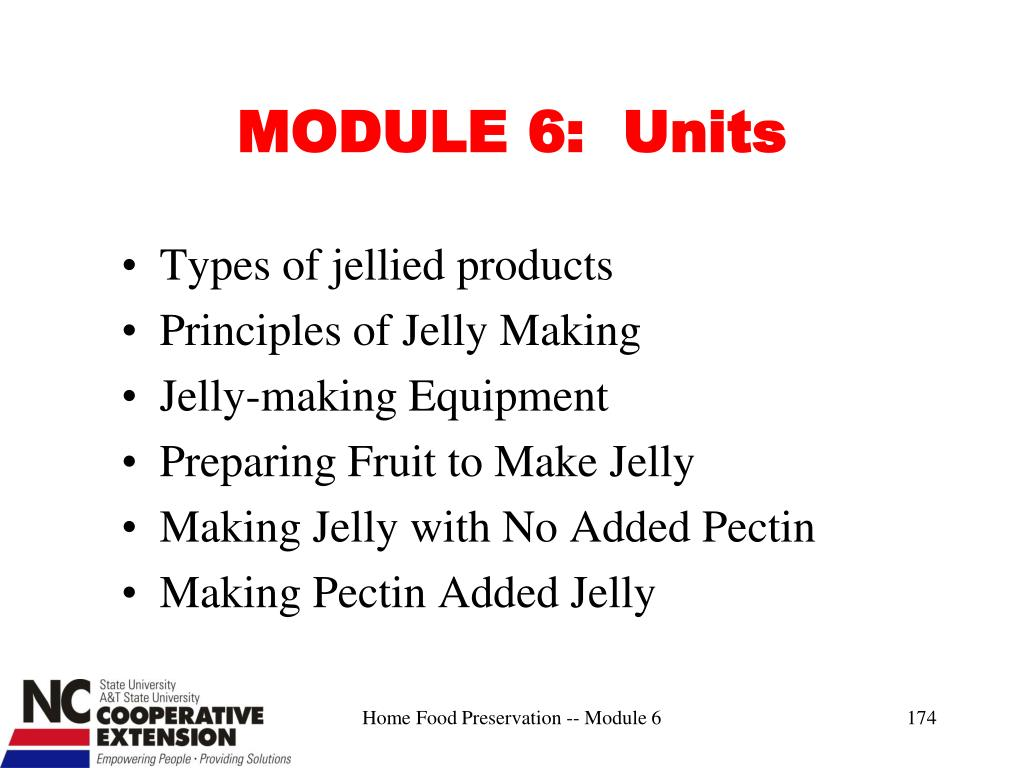 MODULE 6:  Units