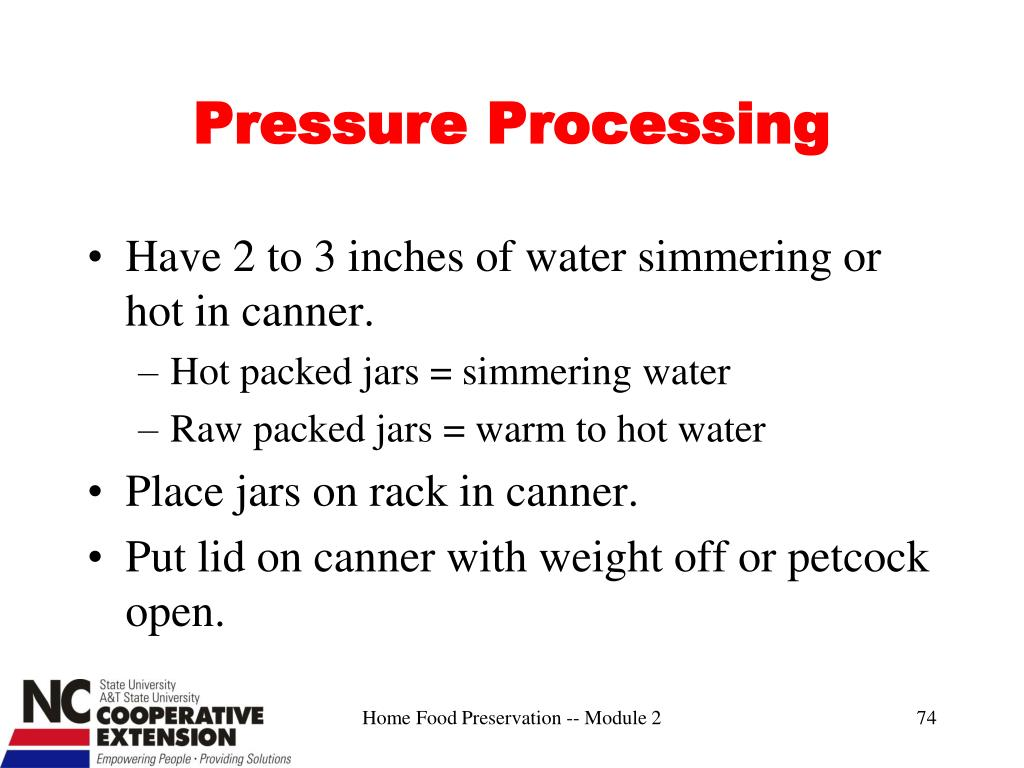 Pressure Processing