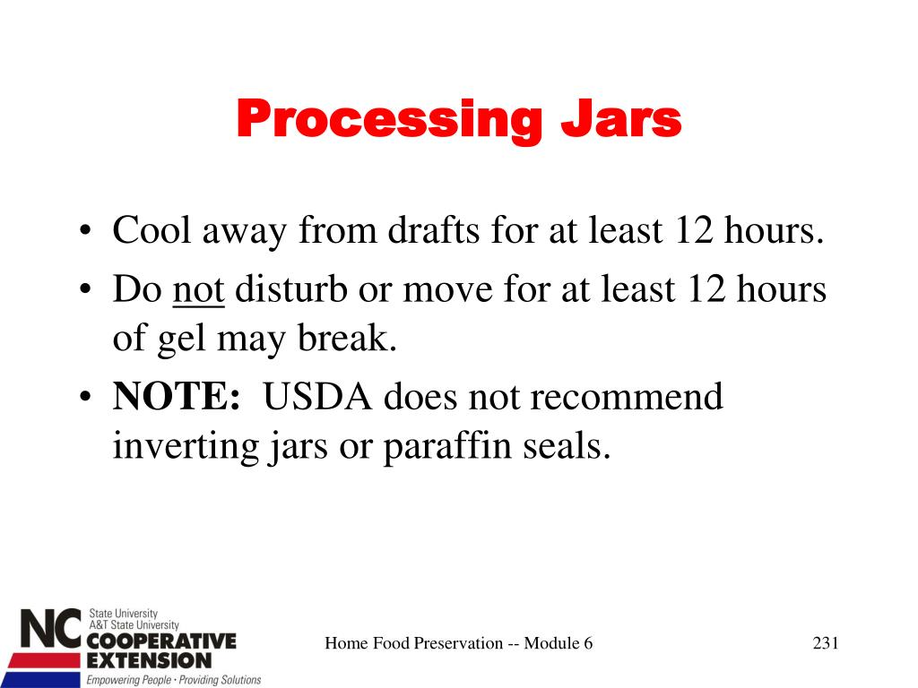 Processing Jars