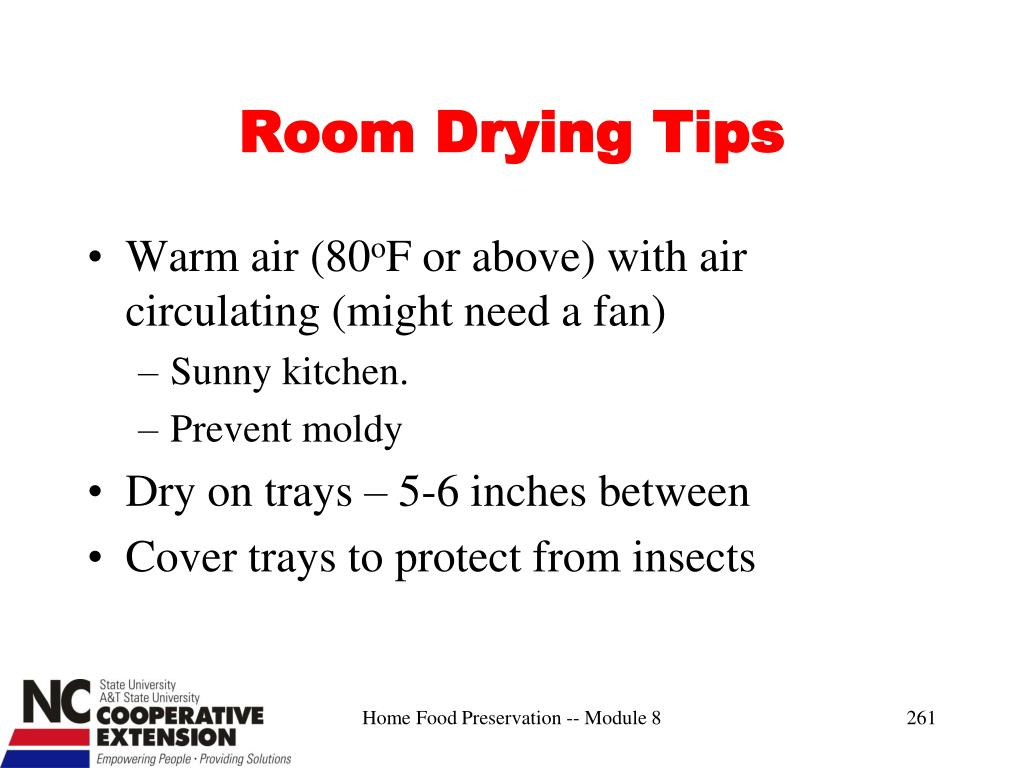 Room Drying Tips