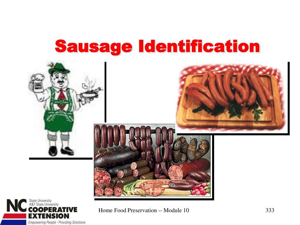 Sausage Identification