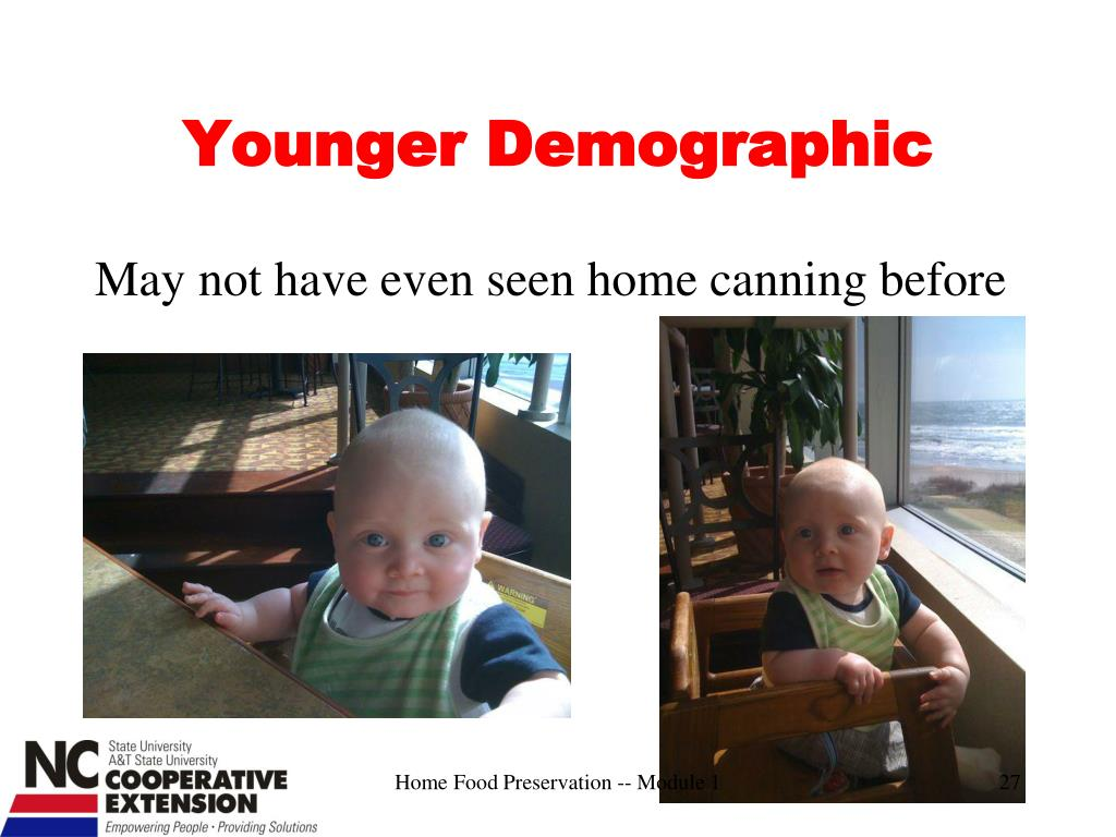 Younger Demographic