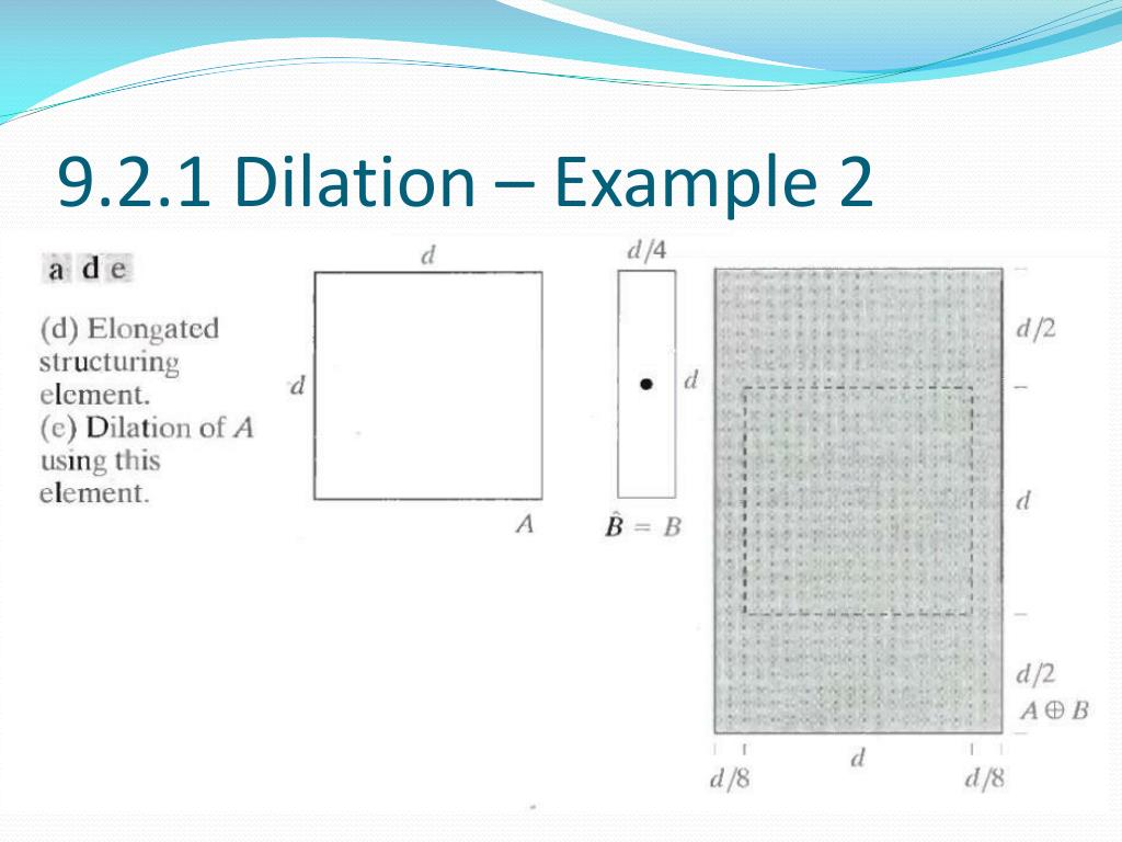 9.2.1 Dilation – Example 2