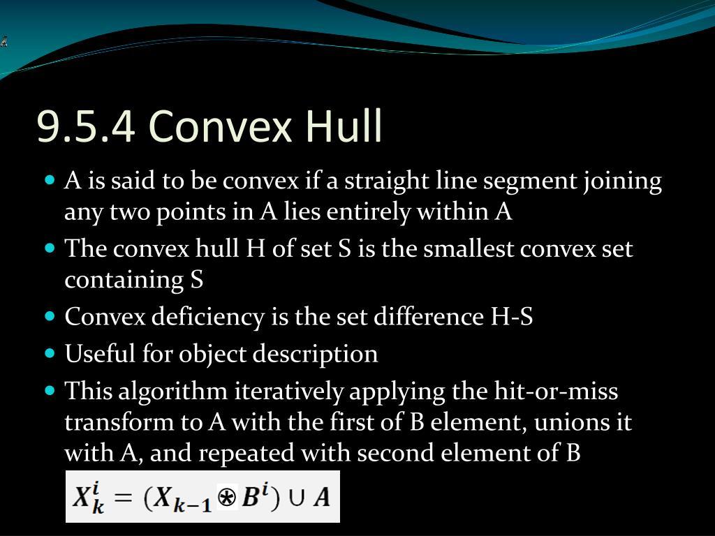 9.5.4 Convex Hull