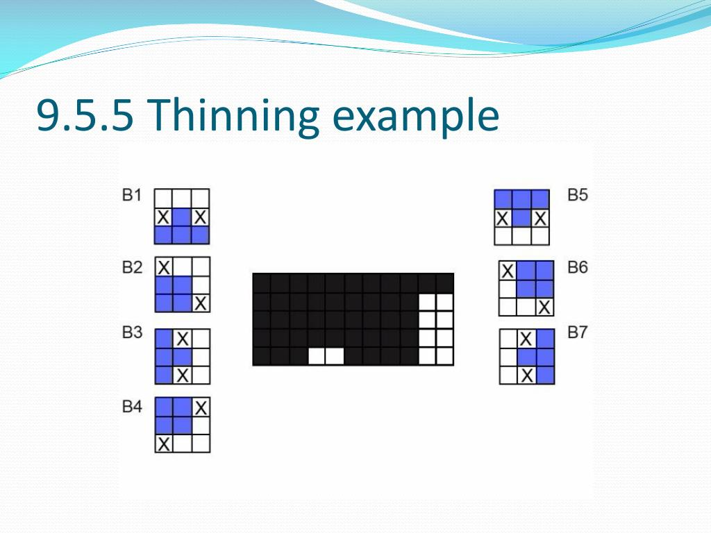 9.5.5 Thinning example
