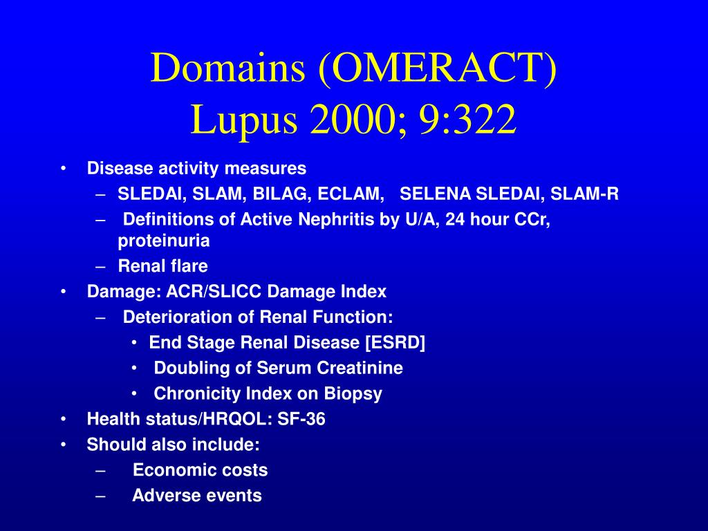 Domains (OMERACT)