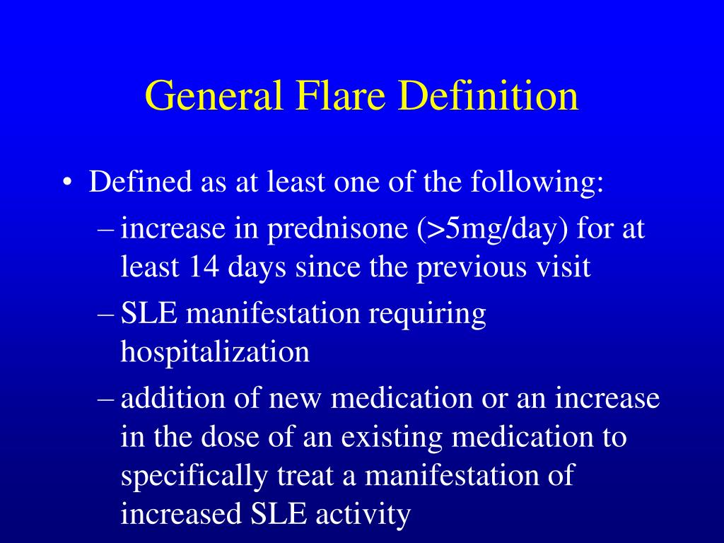 General Flare Definition