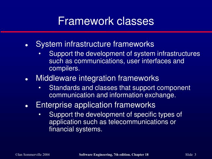 Framework classes