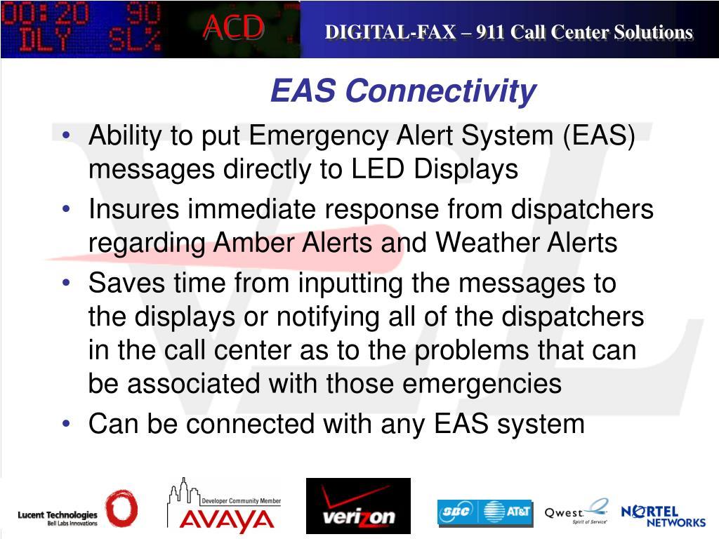 EAS Connectivity