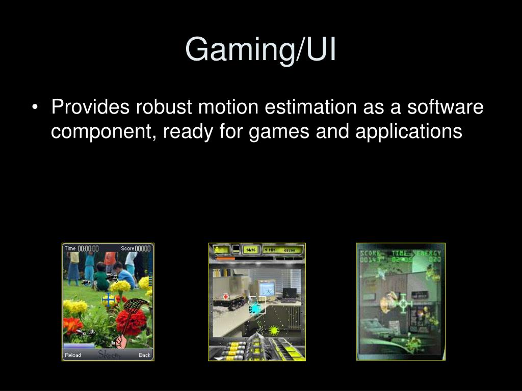 Gaming/UI