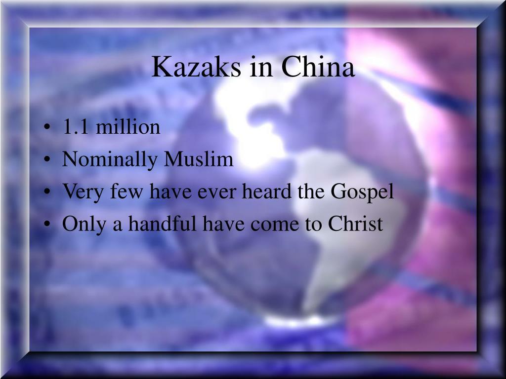 Kazaks in China