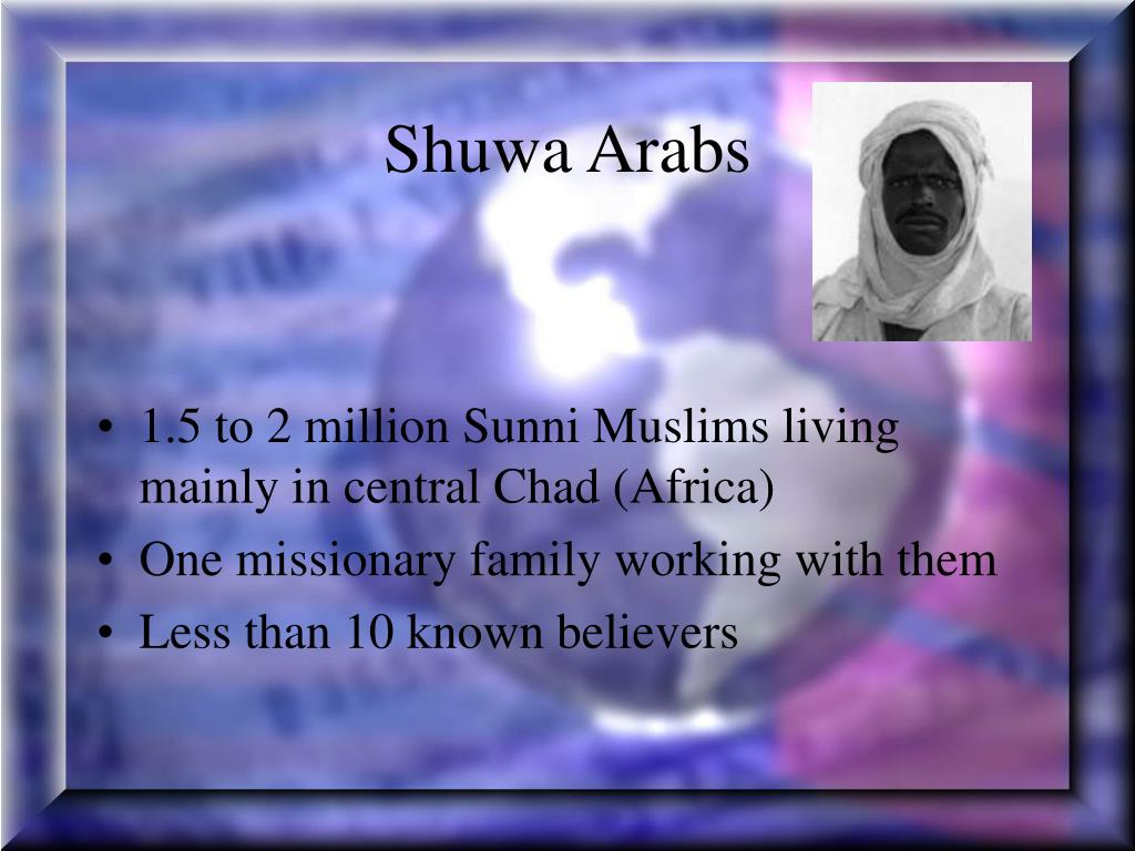 Shuwa Arabs