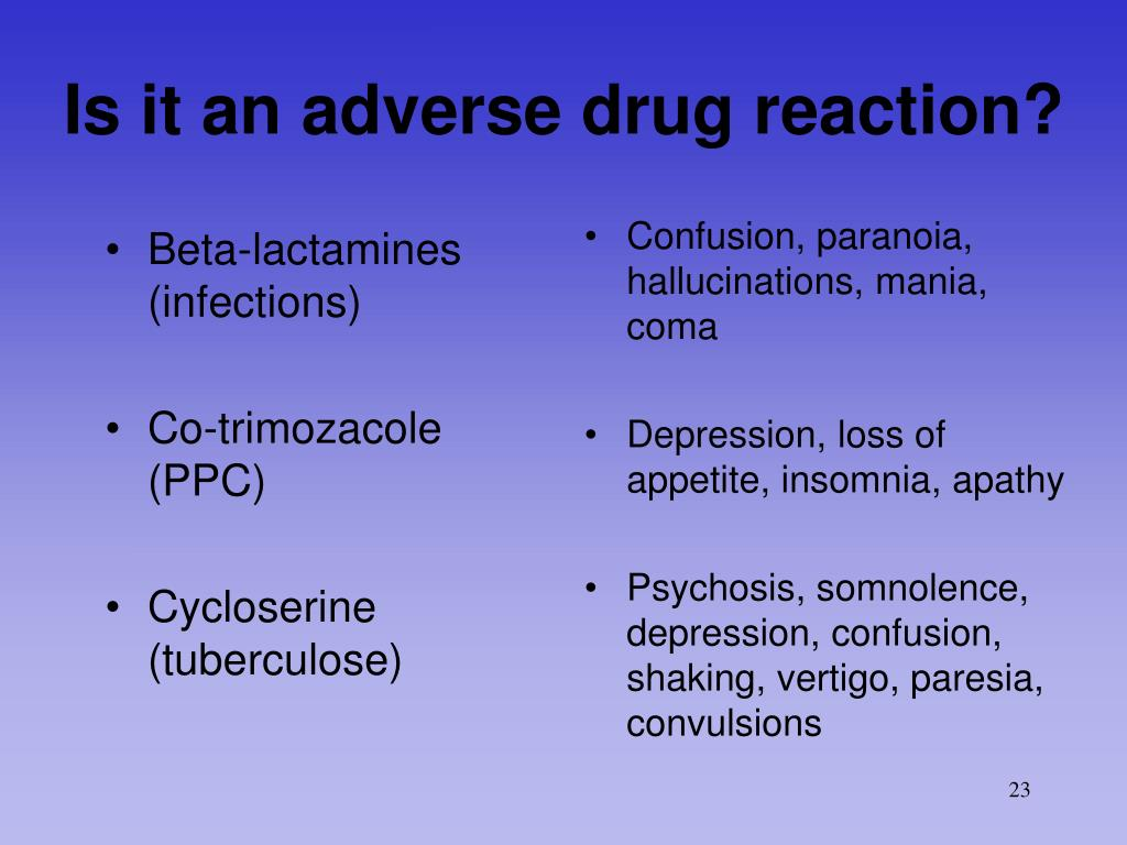 Beta-lactamines (infections)