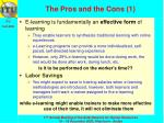 the pros and the cons 1