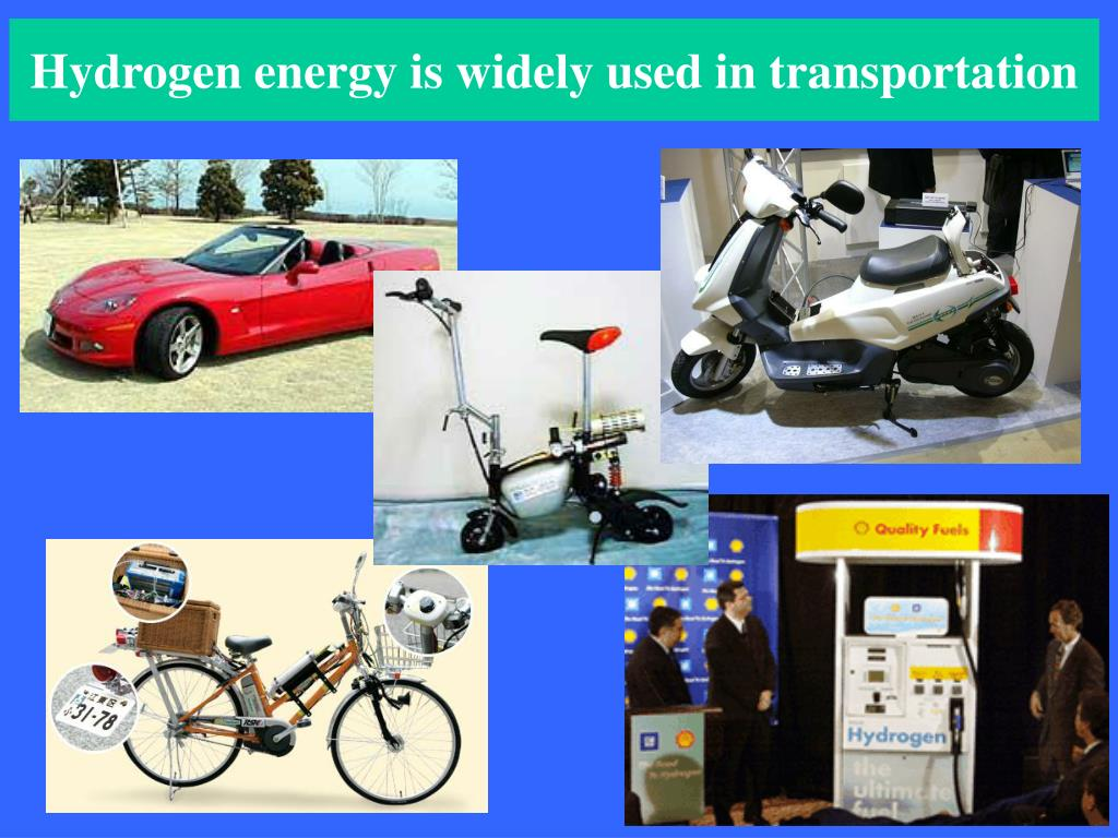 Hydrogen energy is widely used in transportation