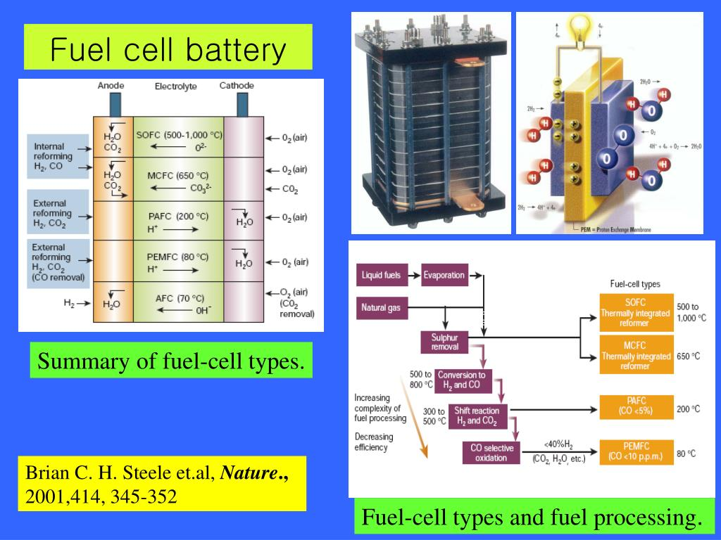 Fuel cell battery