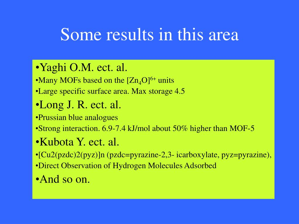 Some results in this area