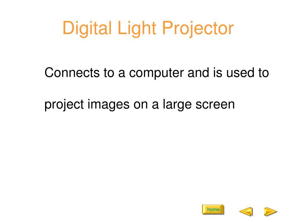 Digital Light Projector