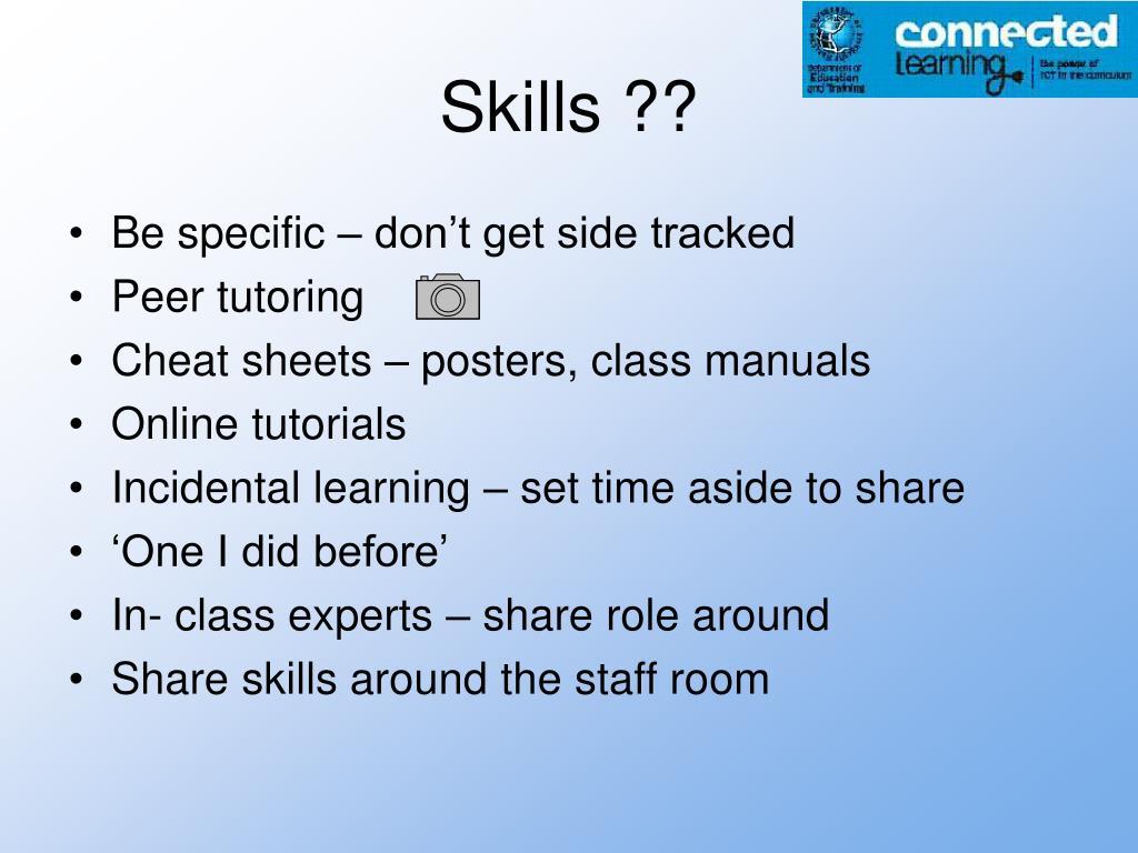 Skills ??