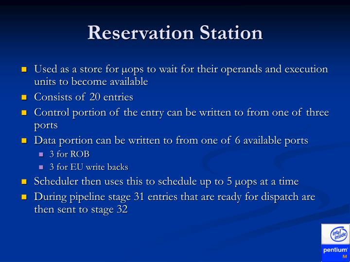 Reservation Station