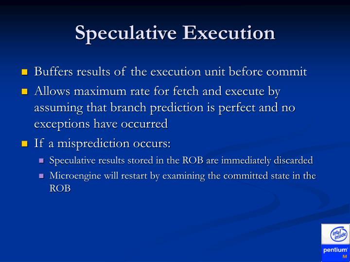 Speculative Execution